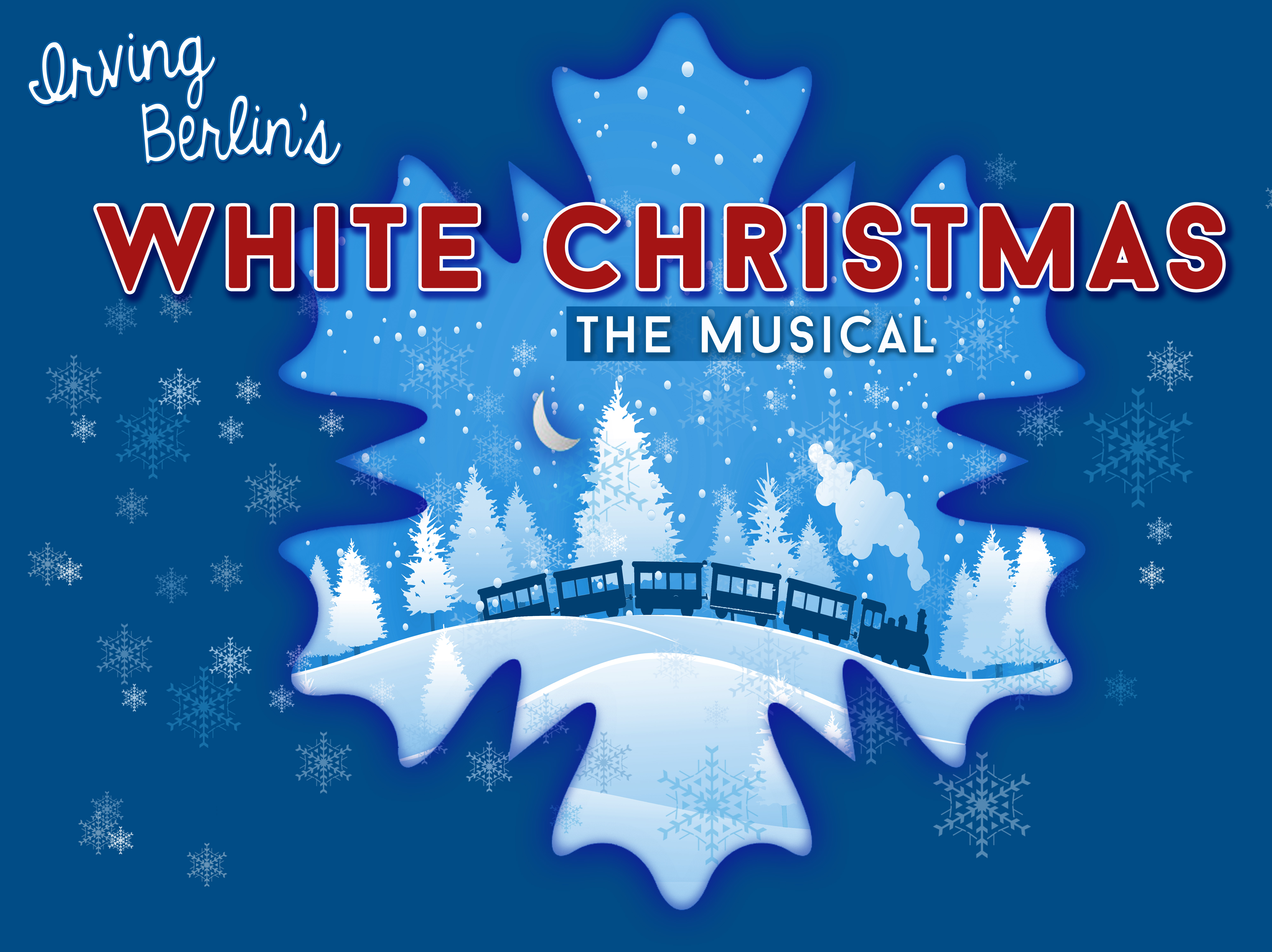White Christmas Logo CHS